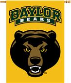 """College Baylor Bears 2-Sided 28""""x40"""" Banner"""