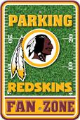 NFL Washington Redskins Plastic Parking Sign