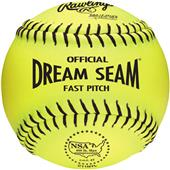 "Rawlings 11"" NSA Dream Seam Fastpitch Softballs"