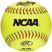 "Rawlings 11"" NCAA Outdoor Training Softballs"