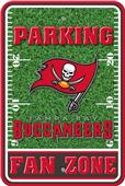 NFL Tampa Bay Buccaneers Plastic Parking Sign