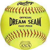 "Rawlings 11"" ASA Dream Seam PL Fastpitch Softballs"
