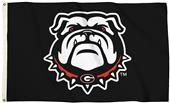 Collegiate Georgia New Dog 3'x5' Flag w/Grommets