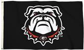 Collegiate Georgia New Dog 3'x5' Flag w/Grommets
