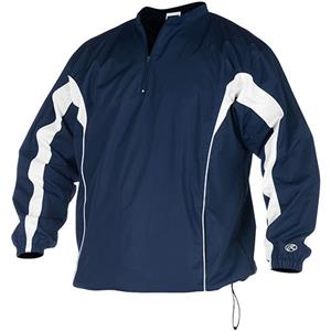 Rawlings &quotTeam&quot Pullover Baseball Jackets - Baseball Equipment &amp Gear