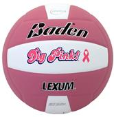 Official Lexum Microfiber Dig Pink Volleyball