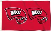 Collegiate Western Kentucky 3'x5' Flag w/Grommet
