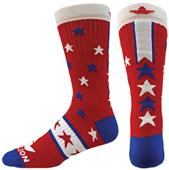 Red Lion Bold Crew Socks - Closeout