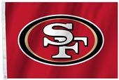 NFL San Francisco 49er's 2'x3' Flag w/Grommet