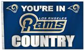 BSI NFL Los Angeles Rams Country 3' x 5' Flag