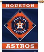 "MLB Houston Astros 28"" x 40"" House Banner"