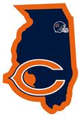 NFL Chicago Bears Home State Decal