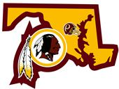 NFL Washington Redskins Home State Decal