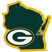 NFL Green Bay Packers Home State Decal