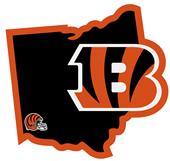 NFL Cincinnati Bengals Home State Decal
