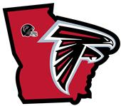 NFL Atlanta Falcons Home State Decal