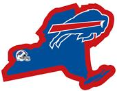 NFL Buffalo Bills Home State Decal