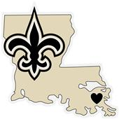 NFL New Orleans Saints Home State Decal