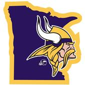 NFL Minnesota Vikings Home State Decal