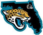 NFL Jacksonville Jaguars Home State Decal