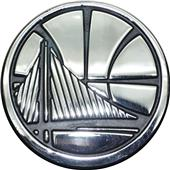 Fan Mats NBA Golden State Warriors Vehicle Emblem
