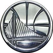 Fan Mats NBA Golden State Warriors Vehicle Emblem