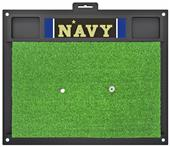 Fan Mats NCAA U.S. Naval Academy Golf Hitting Mat