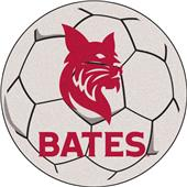 Fan Mats NCAA Bates College Soccer Ball Mat