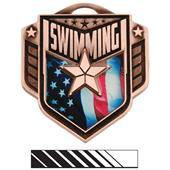 """Hasty Awards 2.25"""" Liberty Swimming Medals M-742"""