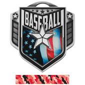 "Hasty Awards 2.25"" Liberty Baseball Medals M-742"