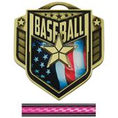 "Hasty Awards 2.25"" Liberty Baseball Medals M-742"