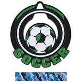 "Hasty Awards 2.75"" Epic Soccer Medals M-732"