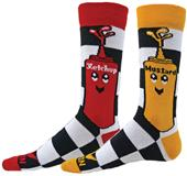 Red Lion Ketchup & Mustard Crew Socks