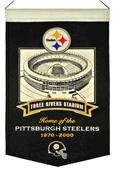 Winning Streak NFL Three Rivers Stadium Banner