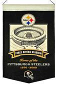 Winning Streak NFL Three Rivers Stadium Banner