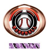 Hasty Award Halo Baseball Epic Insert Medal
