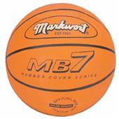 Markwort MB7 Series Orange Rubber Basketballs