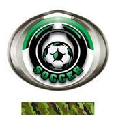 Hasty Award Halo Soccer Epic Insert Medal