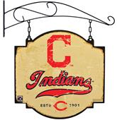 Winning Streak MLB Indians Vintage Tavern Sign