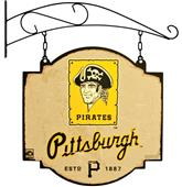 Winning Streak MLB Pirates Vintage Tavern Sign