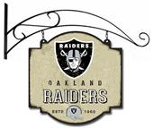 Winning Streak NFL Raiders Vintage Tavern Sign