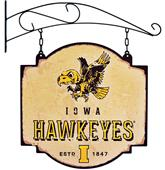 Winning Streak NCAA Iowa Vintage Tavern Sign