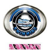 Hasty Award Halo Swimming Epic Insert Medal