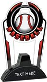 "Hasty 7.5"" Epic TRUacrylic Baseball Trophy"