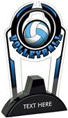 """Hasty 7.5"""" Epic TRUacrylic Volleyball Trophy"""