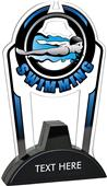 "Hasty 7.5"" Epic TRUacrylic Swimming Trophy"