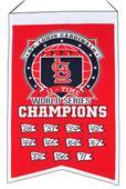 Winning Streak MLB Cardinals 11x Champs Banner