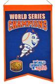 Winning Streak MLB Mets World Series Champs Banner