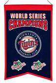 Winning Streak MLB Twins World Series Champ Banner