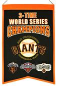 Winning Streak MLB Giants 3x Champs Banner